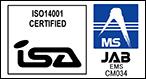 SO 14001:2004取得 JIS Q14001:2004取得